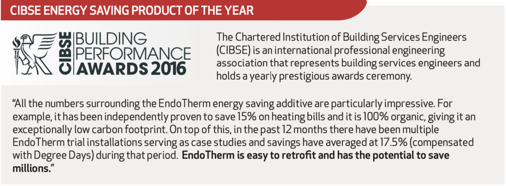 CIBSE Energy Saving Product of the Year