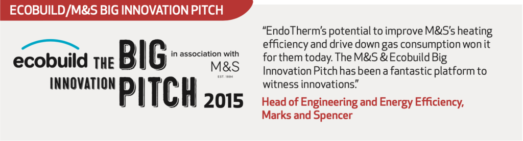 Ecobuild / M&S Big Innovation Pitch
