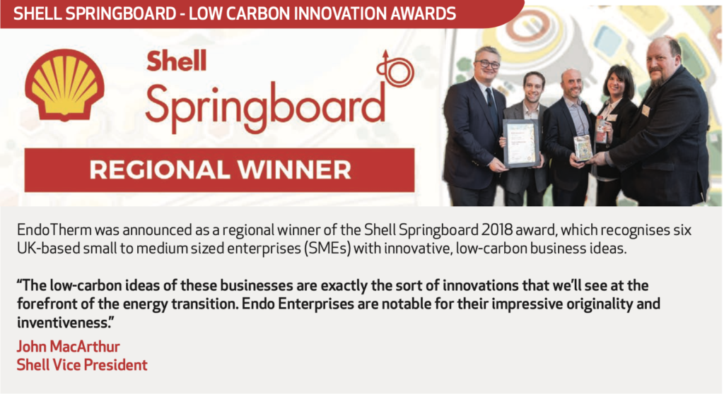 Shell Springboard - Low Carbon Innovation Awards